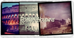 "Postcard from Italy :: Rome, the ""Coliseum""…"