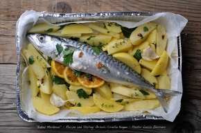 #EatParade :: Baked Mackerel with Orange and… #SeafoodFriday